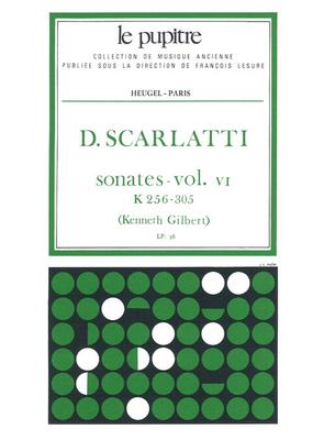 Le Pupitre – Heugel / Sonates Volume 6 K256 a K305 / Domenico Scarlatti / Kenneth Gilbert / Heugel
