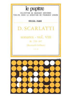 Le Pupitre – Heugel / Sonates Volume 8 K358 a K407 / Domenico Scarlatti / Kenneth Gilbert / Heugel