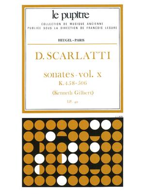 Le Pupitre – Heugel / Sonates Volume 10 K458 a K506 / Domenico Scarlatti / Kenneth Gilbert / Heugel