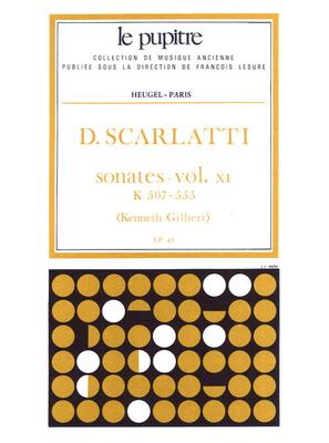 Le Pupitre – Heugel / Sonates Volume 11 K507 a K555 / Domenico Scarlatti / Kenneth Gilbert / Heugel