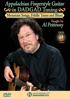 Homespun Tapes / Appalachian Fingerstyle Guitar in DADGAD Tuning DVD Two: Mountain Songs, Fiddle Tunes and Blues /  / Homespun