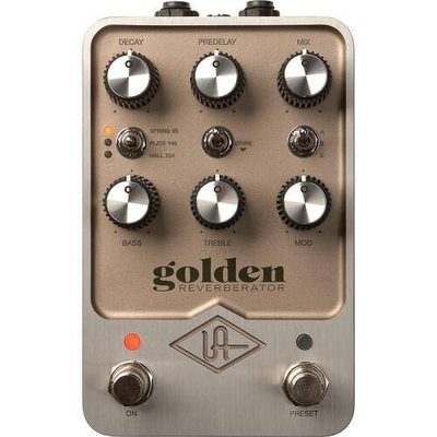 Universal Audio Golden Reverb Pedal