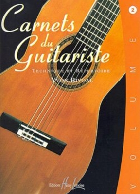 Carnets du guitariste Vol.2 / Yvon Rivoal / Henry Lemoine
