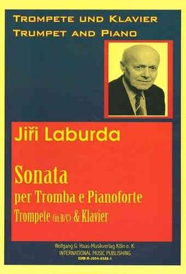 Sonata N  1 pour Trompette / Piano LabWV286 / J. Laburda / Wolfgang G. Haas Musikverlag Köln