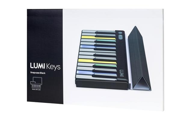 Roli LUMI Snapcase Size C (3/8) Black (livré sans le clavier Lumi)