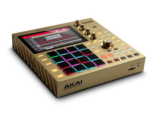 Akai MPC One Gold Limited Edition