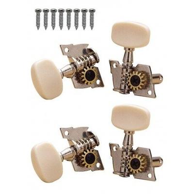 Gotoh Mécaniques ukulele bouton blanc