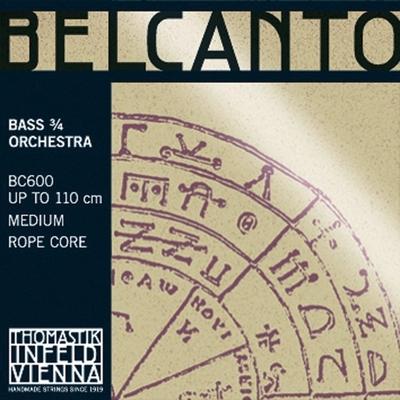 Thomastik Corde Contrebasse Belcanto Orchestre Rope Core Si H/B