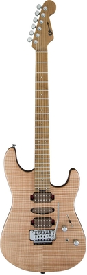 Charvel Guthrie Govan USA Signature HSH Flame Maple Caramelized Flame Maple Fingerboard Natural