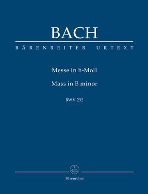 Bärenreiter Urtext / Mass in B minor / Johann Sebastian Bach / Bärenreiter