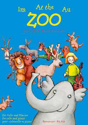 Au zoo / At the Zoo for Violoncello and Piano / Antoni Cofalik / Bärenreiter