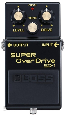 Boss Limited Edition 40th Anniversary SD-1 Super overdrive