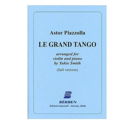 Le Grand Tango Violoncelle et Piano / Astor Piazzolla / Bèrben