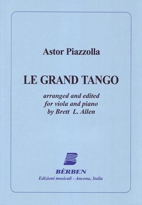 Le Grand Tango Alto et Piano / Astor Piazzolla / Bèrben