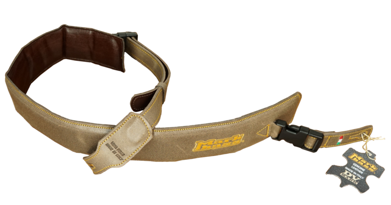 Markbass STRAP M MB BROWN Leather bass strap Markbass »M» size – BROWN
