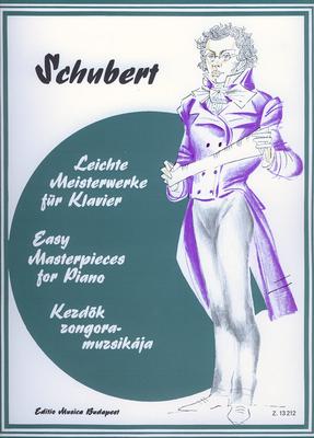 EMB Easy Masterpieces for Piano / Leichte Meisterwerke für Klavier Schubert / Franz Schubert / EMB Editions Musica Budapest
