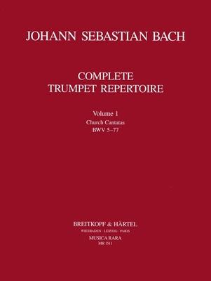 Musica Rara (Breitkopf) / Orchesterstud. Trompete Bd.I / Johann Sebastian Bach / Ludwig Güttler / Breitkopf