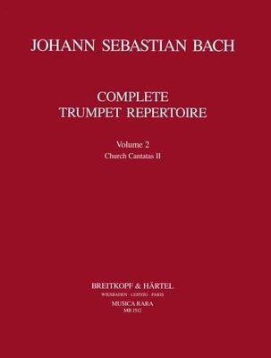 Musica Rara (Breitkopf) / Orchesterstud. Trompete Bd.II / Johann Sebastian Bach / Ludwig Güttler / Breitkopf