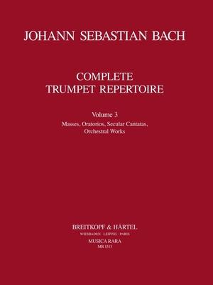 Musica Rara (Breitkopf) / Orchesterstud. Trompete Bd.III / Johann Sebastian Bach / Ludwig Güttler / Breitkopf