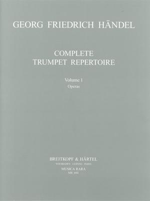 Musica Rara (Breitkopf) / Orchesterstud. Trompete Bd.I / Georg Friedrich Händel / Robert L. Minter / Breitkopf