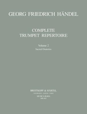 Musica Rara (Breitkopf) / Orchesterstud. Trompete Bd.II / Georg Friedrich Händel / Robert L. Minter / Breitkopf