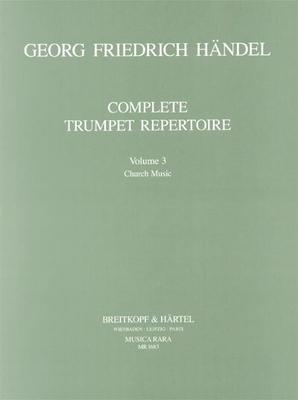 Musica Rara (Breitkopf) / Orchesterstud. Trompete Bd.III / Georg Friedrich Händel / Robert L. Minter / Breitkopf