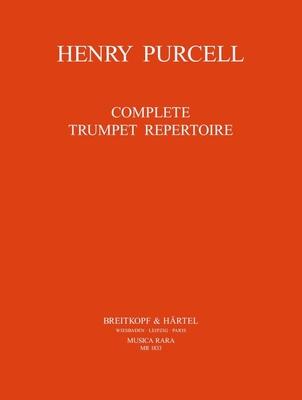 Musica Rara (Breitkopf) / Orchesterstudien Trompete / Henry Purcell / John King / Breitkopf