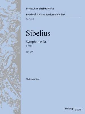 Breitkopf Urtext Edition / Symphony No.1 In E Minor Op.39 / Jean Sibelius / Breitkopf