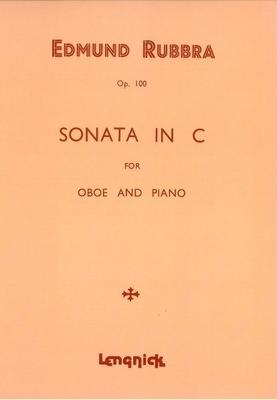 Sonata in C Opus 100 / Edmund Rubbra / Ricordi
