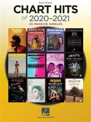 Chart Hits of 2020-2021 European Edition /  / Hal Leonard
