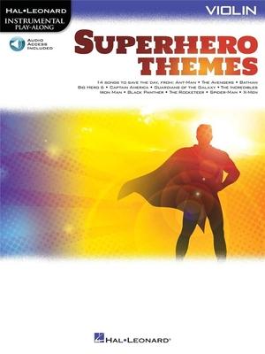Superhero Themes for Violin Instrumental Play-Along /  / Hal Leonard