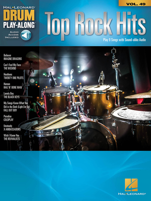 Drum Play-Along / Top Rock Hits Drum Play-Along Volume 49 /  / Hal Leonard
