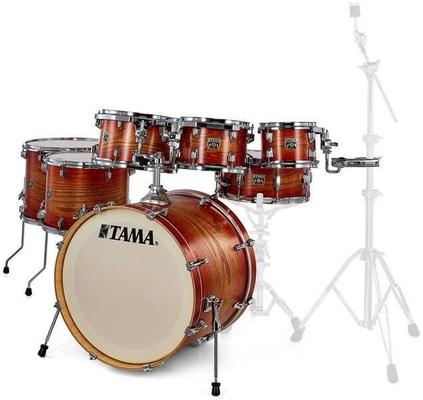 Tama CL72RS-EMAE Drum Kit : Limited Edition Superstar Classic Maple 22» Matte Auburn Elm Burst