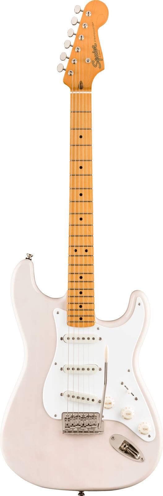 Squier Classic Vibe '50s Stratocaster Maple Fingerboard White Blonde : photo 1