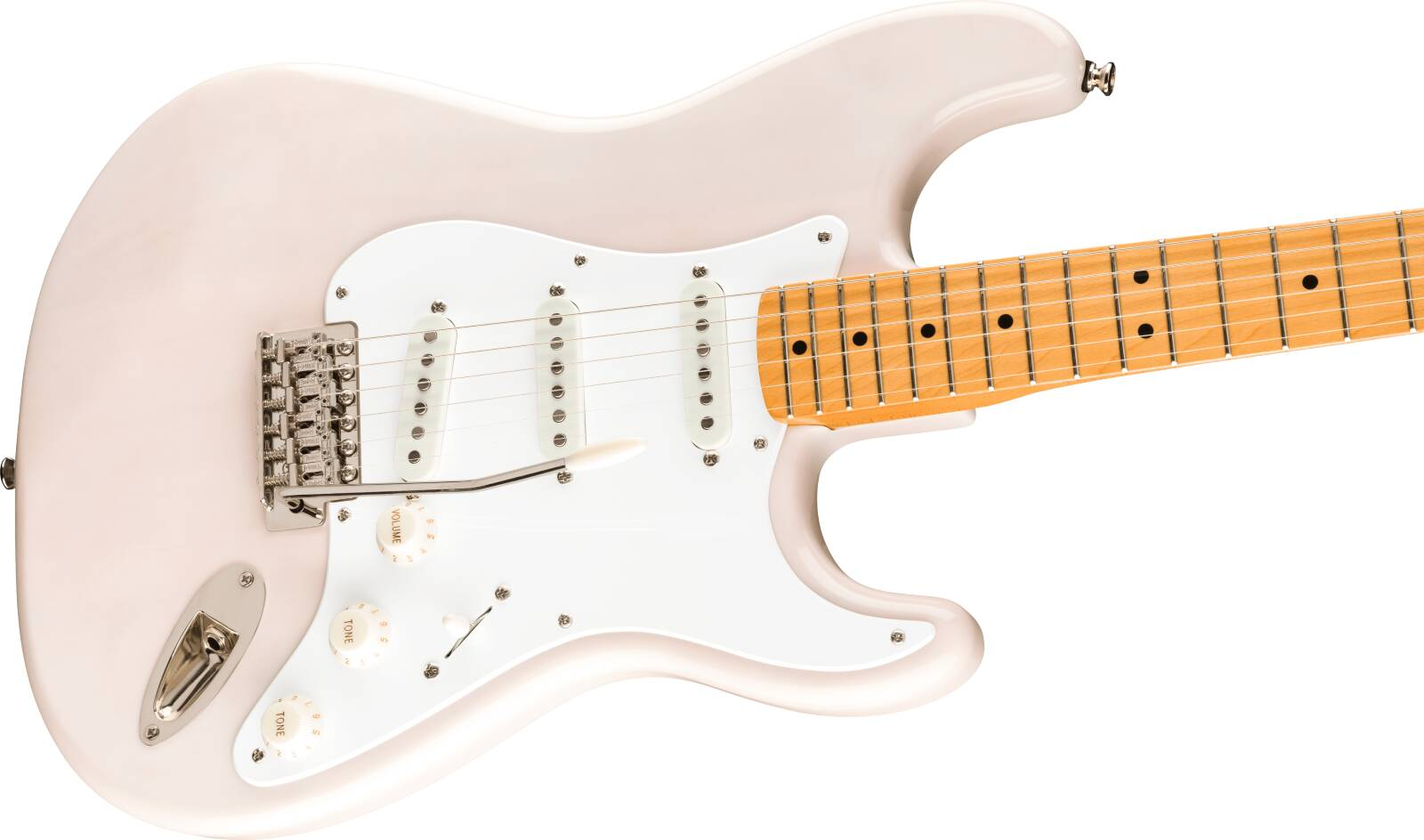 Squier Classic Vibe '50s Stratocaster Maple Fingerboard White Blonde : photo 3