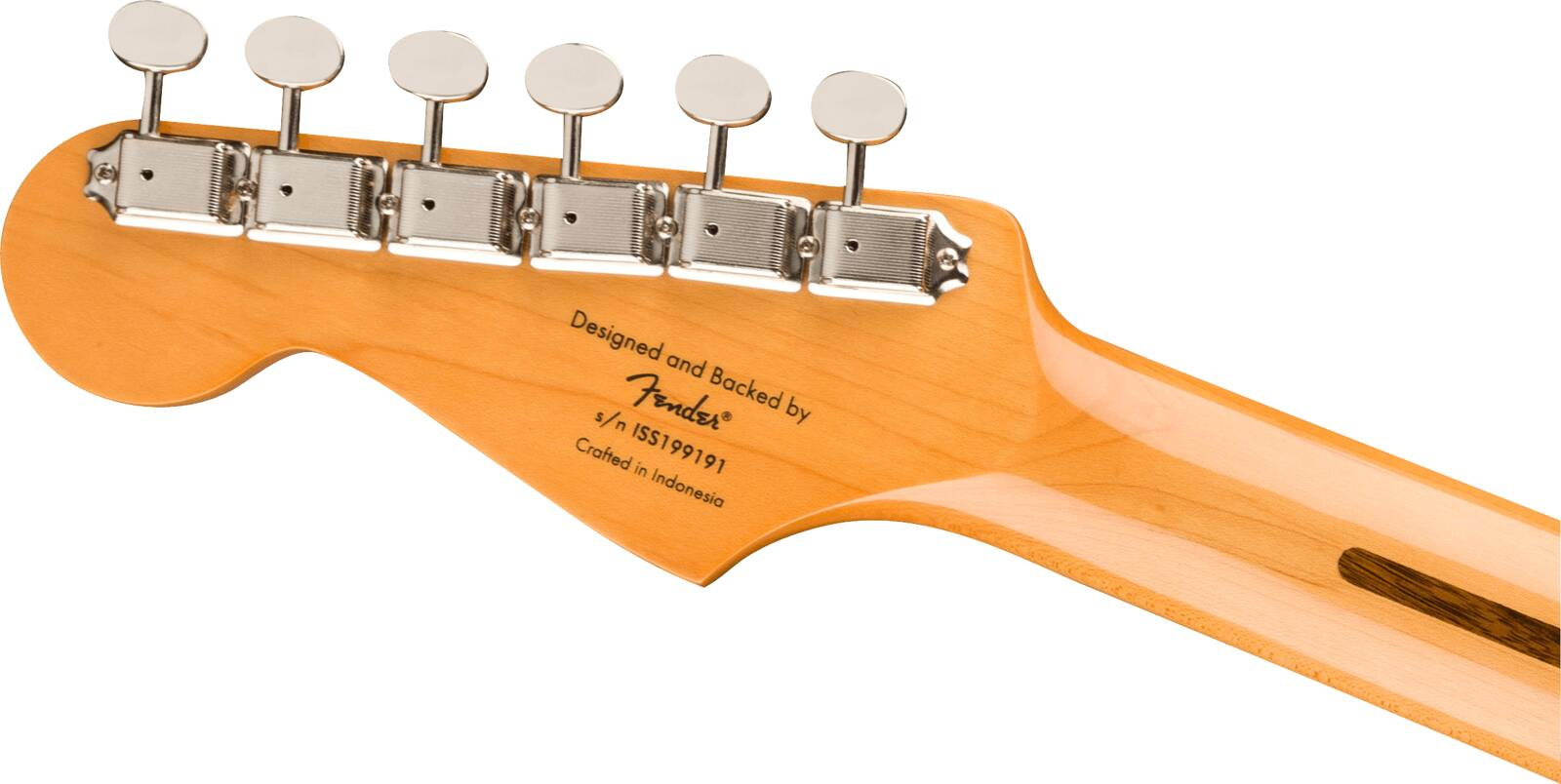 Squier Classic Vibe '50s Stratocaster Maple Fingerboard White Blonde : photo 5
