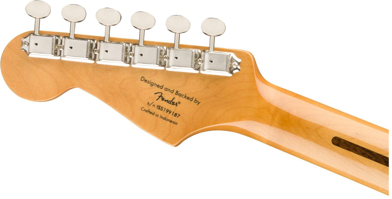 Squier Classic Vibe '50s Stratocaster Maple Fingerboard Black : photo 5