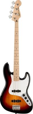 Squier Affinity Series Jazz Bass, Maple Fingerboard, White Pickguard, 3-Color Sunburst