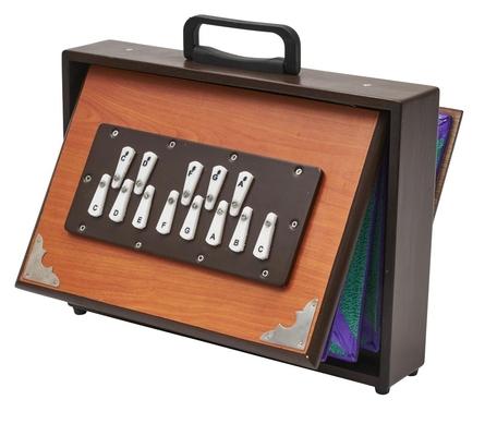 Afroton Shrutibox, accordage féminin, chromatique, C4-C5