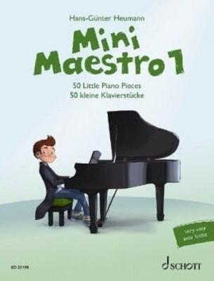 Mini Maestro Band 1 50 kleine Klavierstücke /  / Schott