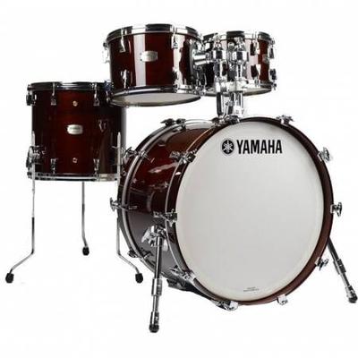 Yamaha Percussions Rock Set Absolute Maple Hybrid Walnut