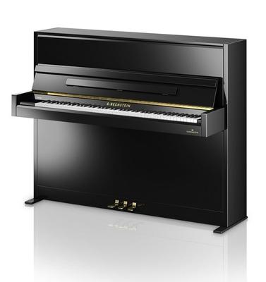 Bechstein Academy A4 Noir brillant + Système silencieux C. Bechstein Vario