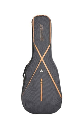 Ritter Gig Bag Session7 Classical 1/2, Misty Grey – Leather brown