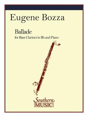 Southern Music / Ballade / Eugène Bozza / Southern Music Co