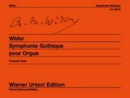 Wiener Urtext Edition / Symphonie Gothique Op 70 (Wiener Urtext) / Charles-Marie Widor / Wiener Urtext