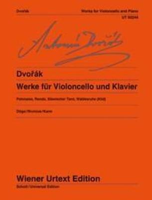 Wiener Urtext Edition / Works For Cello And Piano / Antonn Dvok / Klaus Döge / Wiener Urtext