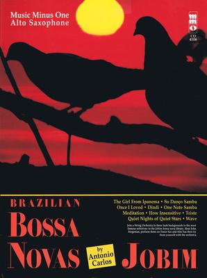 Music Minus One / Brazilian Bossa Novas / Music Minus One Alto Saxophone / Antonio Carlos Jobim / Music Minus One