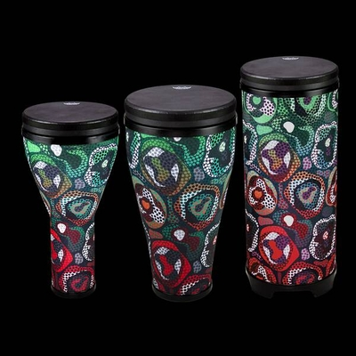 Remo Drum Combo Pack Tribal Green