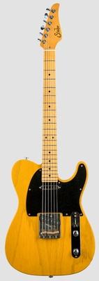 Suhr Guitars Classic T Antique, Trans Butterscotch, Maple Fingerboard