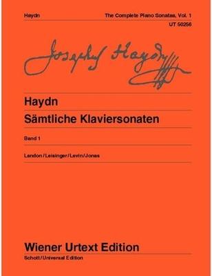 Wiener Urtext Edition / Complete Piano Sonatas Vol. 1 / Franz Joseph Haydn / Christa Landon / Wiener Urtext